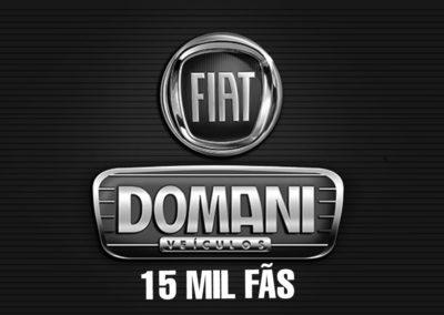 DOMANI FIAT – 15 MIL FÃS