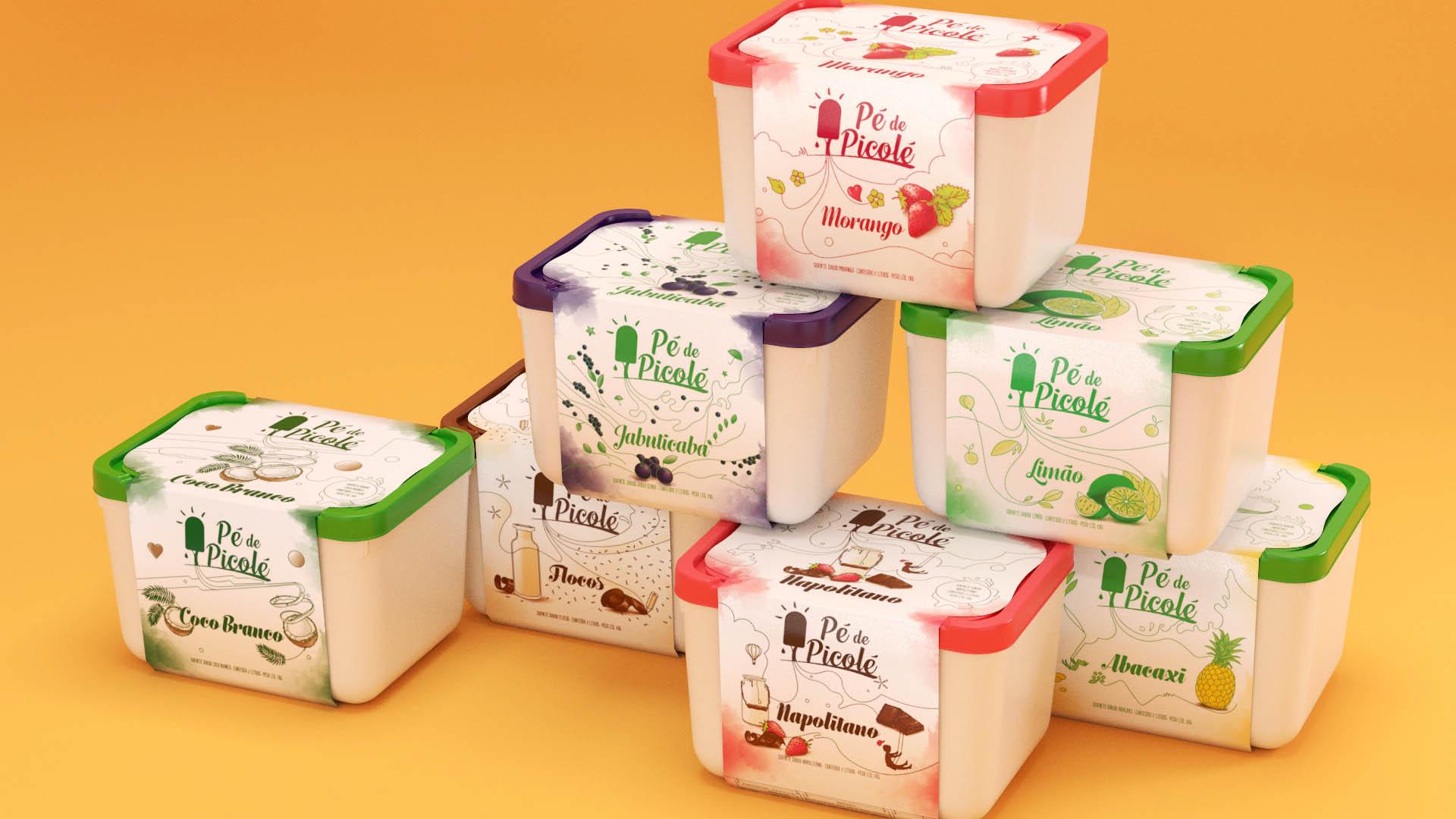 Embalagens Pé de Picolé